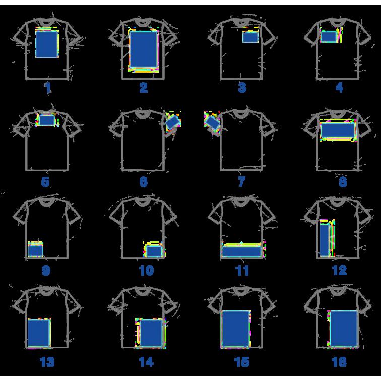 Печат върху облекло за индивидуално брандиране - тип Щампа
