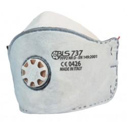 Плоска маска FFP2 с активен въглен FAWA P2V