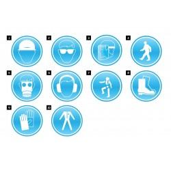 Задължаващи знаци SIGN OBL