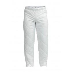 Ватиран работен панталон FOCUS | Бяло