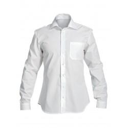 Мъжка риза с дълъг ръкав CENTRAL | Бяло