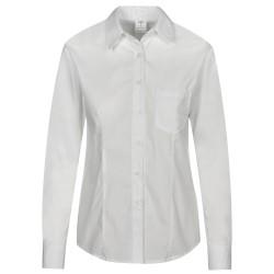 Дамска риза с дълъг ръкав ALINEA | Бяло