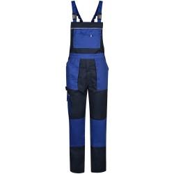 Работен полугащеризон ALPHA Salopette | Тъмно синьо