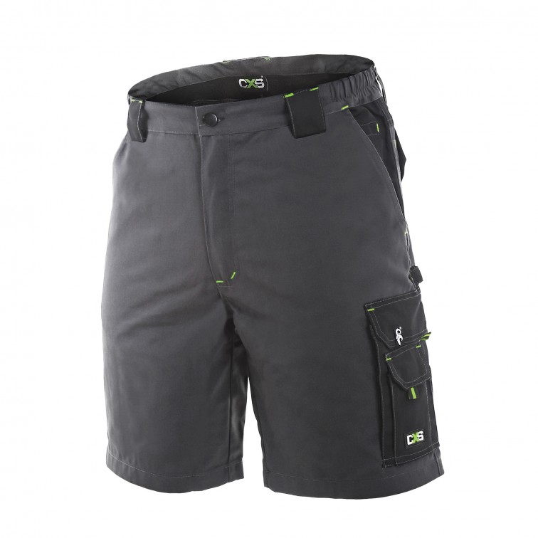 Работни къси панталони SIRIUS Shorts | Тъмно сиво
