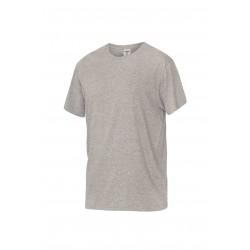 Тениска с обло деколте  FUJI | Светло сиво