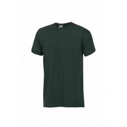 Тениска с обло деколте  FUJI | Тъмно зелено