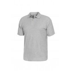 Блуза тип пике POLO | Светло сиво
