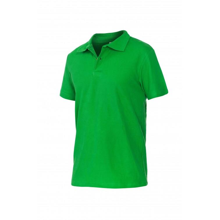 Блуза тип пике POLO | Зелено