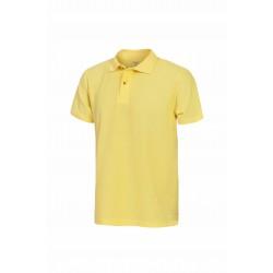 Блуза тип пике POLO | Жълто