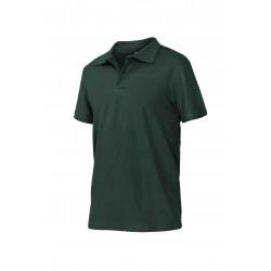 Блуза тип пике POLO | Тъмно зелено