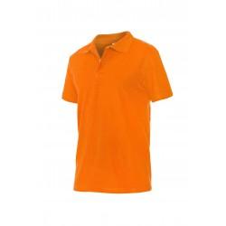 Блуза тип пике POLO | Оранжево