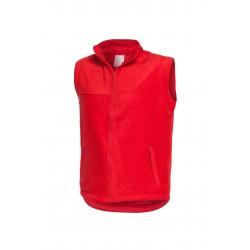 Поларен елек за работа  FOX | Червено
