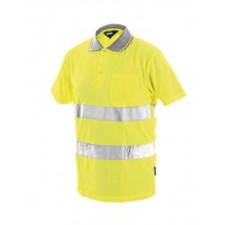 Блуза тип пике DOVER   Жълто