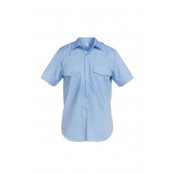Риза с къс ръкав SENTINEL | Синьо