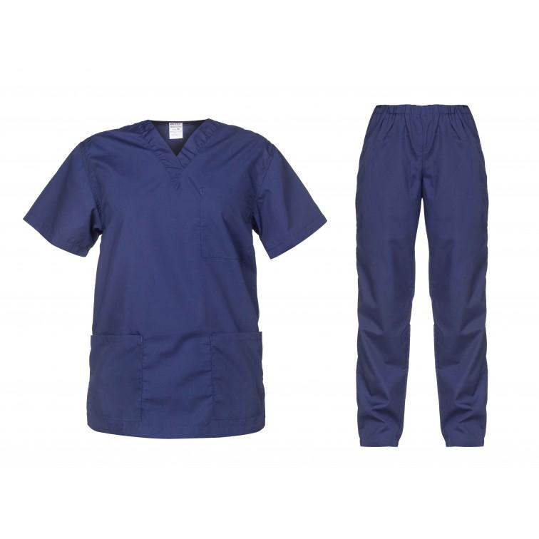 Комплект туника и панталон CESARE | Тъмно синьо