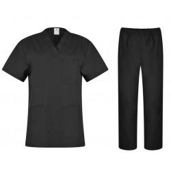 Комплект туника и панталон CESARE | Черен