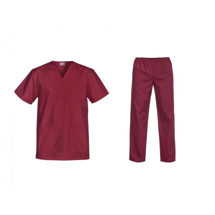 Комплект туника и панталон CESARE   Бордо