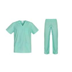 Комплект туника и панталон CESARE | Зелено