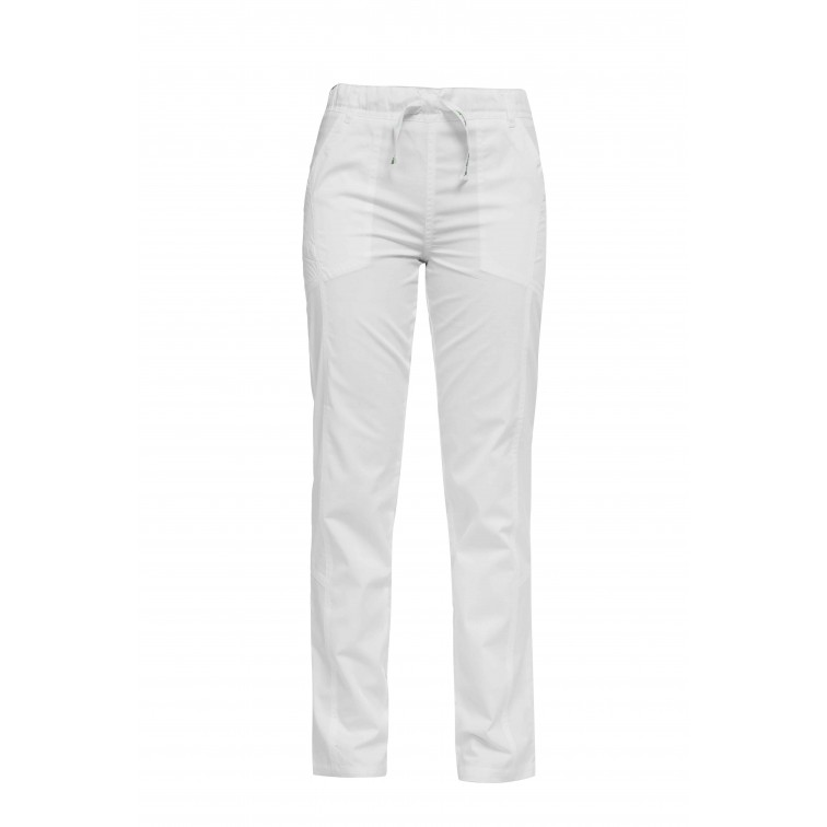 Работен панталон LUCA   Бяло