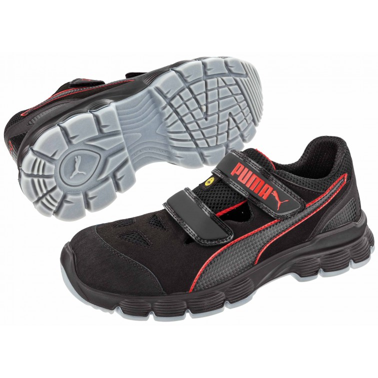 Защитни работни обувки AVIAT Low S1P | Черно