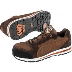 Защитни работни обувки S1P SRC HRO BARANI Low S1P | Кафяво