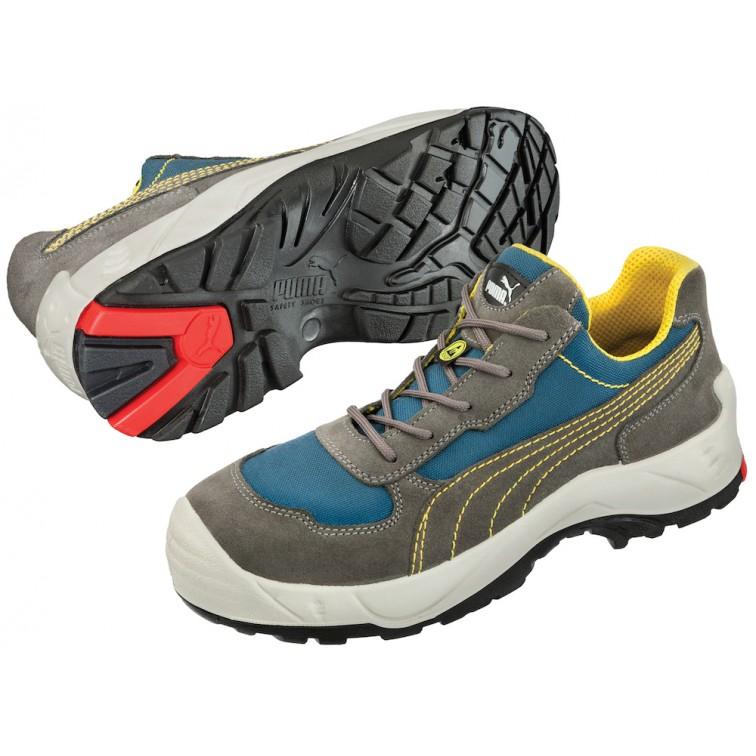 Защитни работни обувки S3 VANGUARD Low S3 | Сиво | Синьо