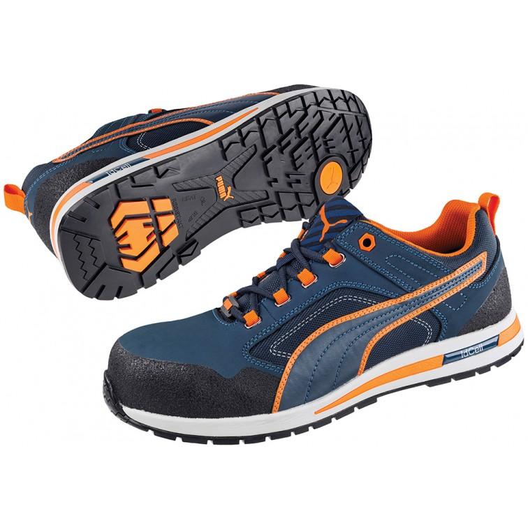 Защитни работни обувки CROSSTWIST Low S3  | Синьо