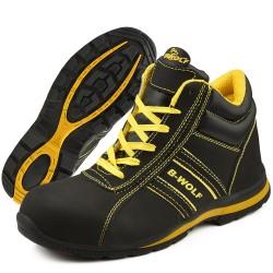 Защитни работни обувки S3 HRO FLASH Hi S3 | Черно