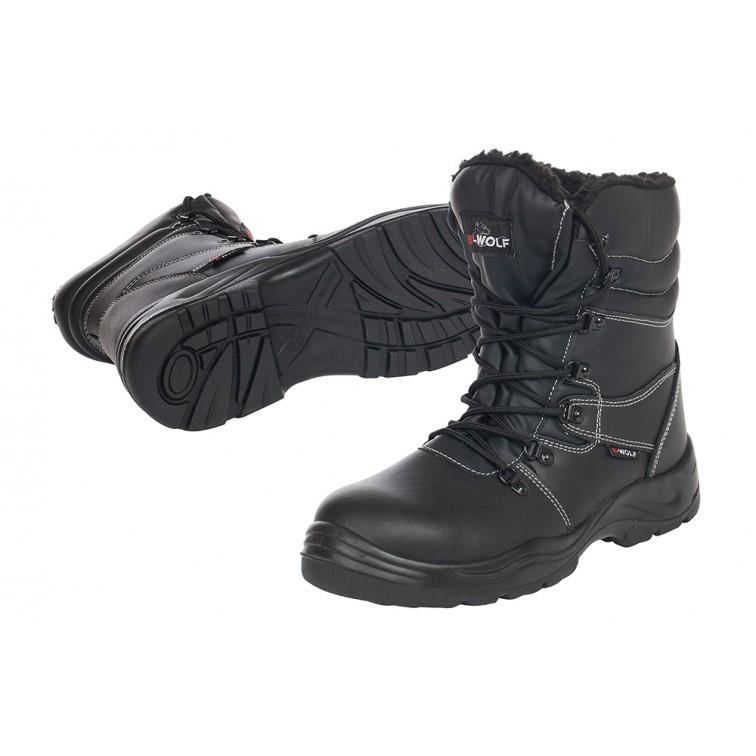 Защитни работни обувки S3 HRO GRIZZLY Hi S3 | Черно