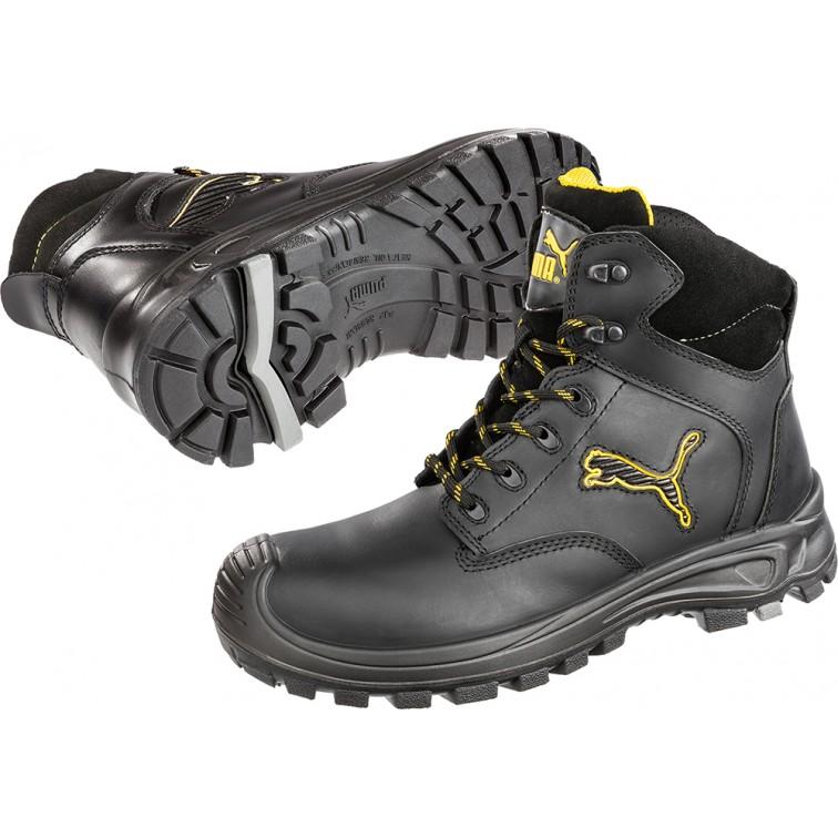 Защитни работни обувки S3 HRO SRC BORNEO Mid S3 | Черно