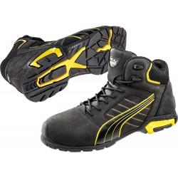 Защитни работни обувки S3 SRC AMSTERDAM Mid S3 | Черно