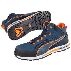 Защитни работни обувки CROSSTWIST Mid S3  | Синьо