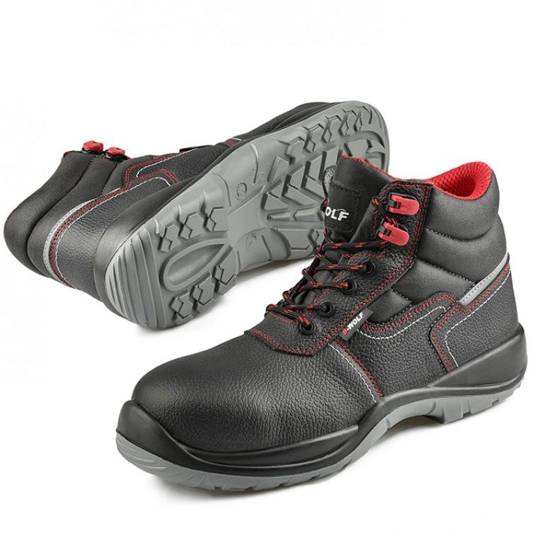 Защитни работни обувки S3 SIERRA Hi S3 | Черно