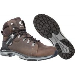 Защитни работни обувки О2 BRIONE Mid O2 | Кафяво