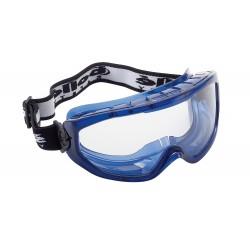 Защитни очила Clear, ПВХ заПолиестерчатана рамка BLAST