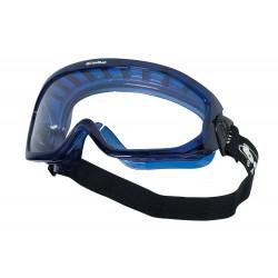 Защитни очила Clear acetate, ПВХ вентилирана рамка BLAST