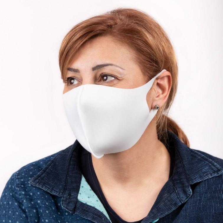 Защитни неопренови маски за многократна употреба Бяла - 50 броя в пакет / NFIL - Pack 50-W / НАЛИЧНO / ОГРАНИЧЕНО КОЛИЧЕСТВО