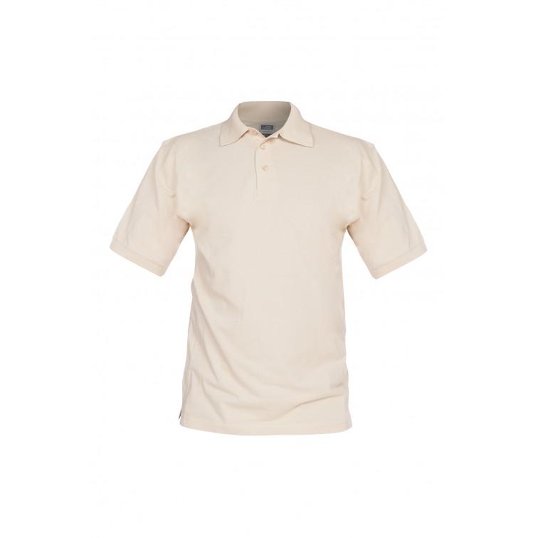 Блуза с къс ръкав La Coste | Бежов цвят