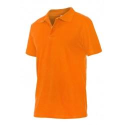 Тениска La Coste | Оранжев цвят