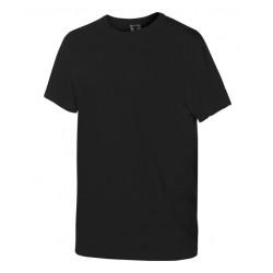 Тениска с обло деколте | Черен цвят