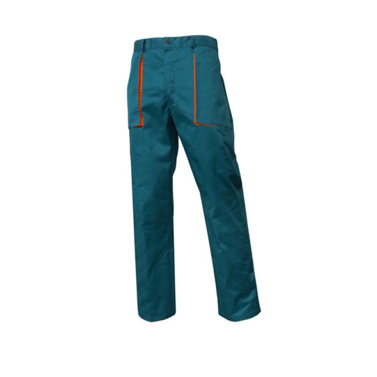 Летен работен панталон | Зелен цвят