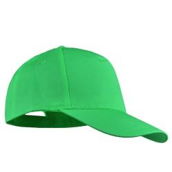 Шапка с козирка BALI | Светло зелено