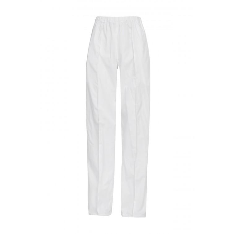 Бял работен панталон