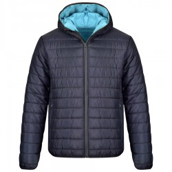 Ватирано яке с качулка APOLLO Jacket   Тъмно синьо