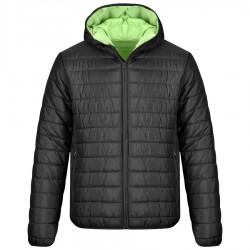 Ватирано яке с качулка APOLLO Jacket | Черно