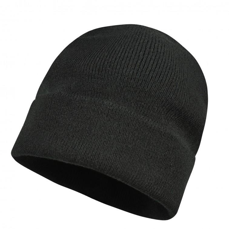Шапка плетена GLAZE | Черно