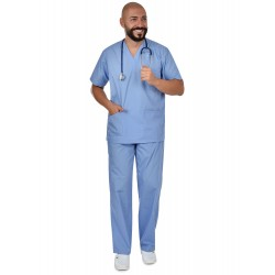 Комплект туника и панталон CESARE | Синьо