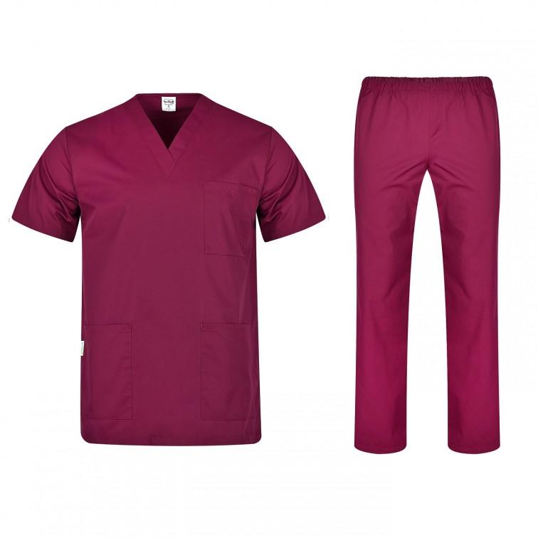 Комплект туника и панталон COLOMBO   Винено червен