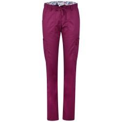 Дамски медицински панталон LINDSEY | KOI Design | Винено червен