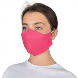 Текстилна защитна маска за многократна употреба ALMA | Розов цвят